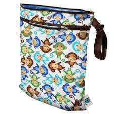 planet wise wetdry bag monkey fun