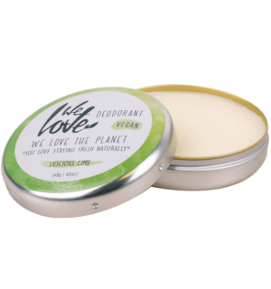 we love the planet deodorant luscious lime