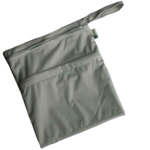 little lamb wetdry bag medium zilver